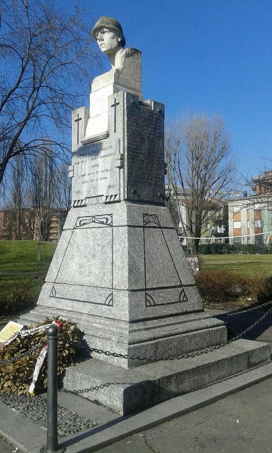 Valorizzazione del monumento dedicato ai caduti di gorla e for Www presotto it